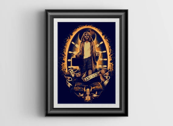 He Abides signed print - 8x10