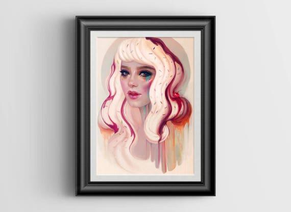 à La Mode - 4x6 art print