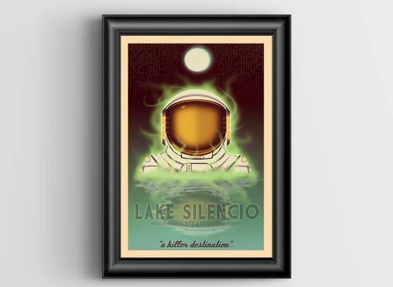 Silencio Oversized Postcard - 5.5 x 8.5