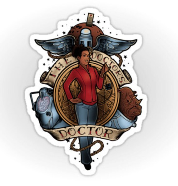 The Doctor's Doctor - Sticker