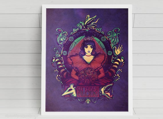 Utterly Alone signed Poster Art Print - 11x14
