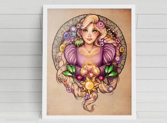 I've Got a Dream - Rapunzel - signed art prints