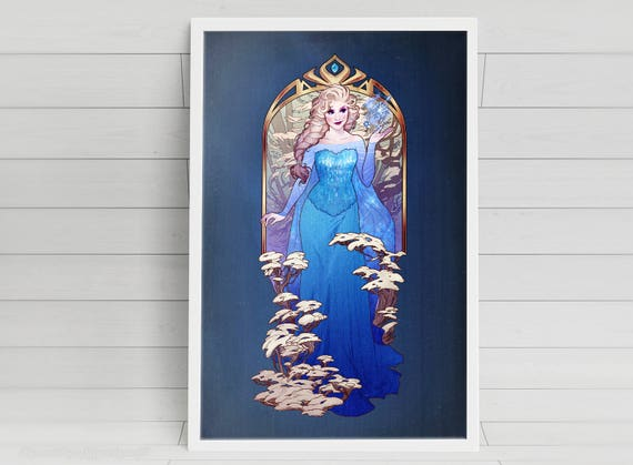 A Kingdom of Isolation - Elsa - signed art prints
