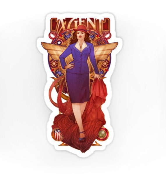 Call Me Agent - Agent Carter - Sticker