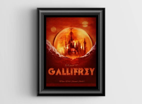 Gallifrey Oversized Postcard - 5.5x8.5