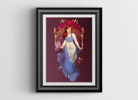 """A Tale As Old As Time signed art print - A4 Size (about 8.5""""x11.5"""")"""