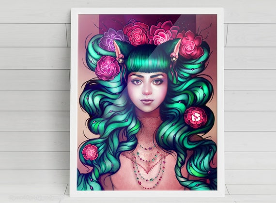 Delilah signed art prints
