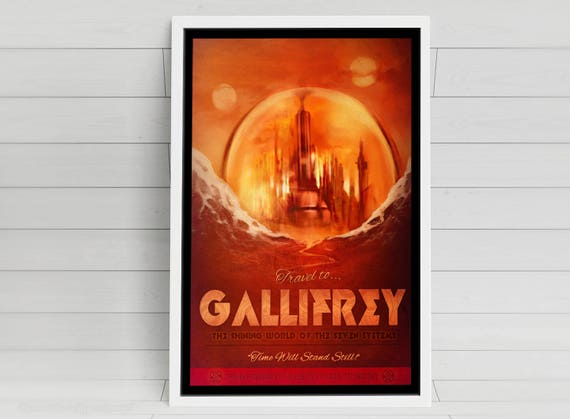 Gallifrey signed art prints