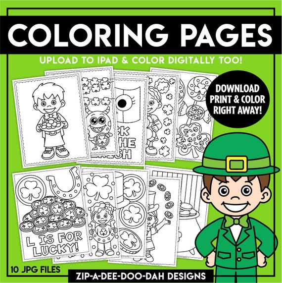 Printable St Patrick's Day Coloring Pages