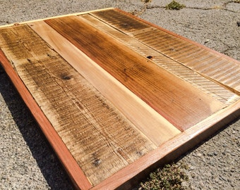 Wood Table Tops (Made to Order): sweet reclaimed wood table tops. Stick a nice base on and you're ready.