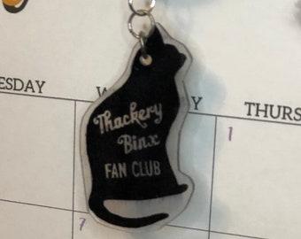 Binx fan club keychain