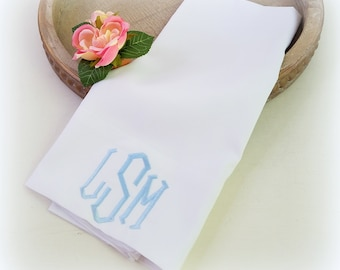 Monogram Pillow Cases- Bedroom Refresh-Embroidered Pillows-Personalized pillowcases-Valentine's gift