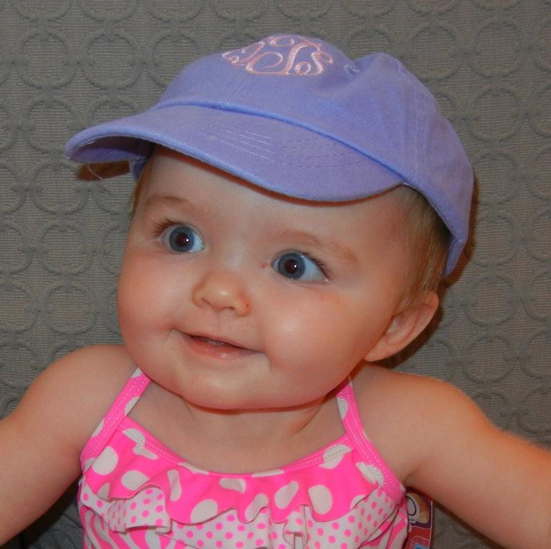 f2f073efd Monogrammed Infant/Toddler Baseball Hat