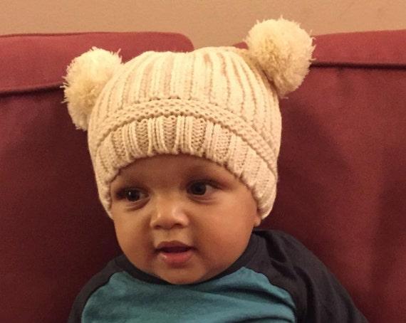 Monogrammed Infant Winter Hat  d5c753172fe