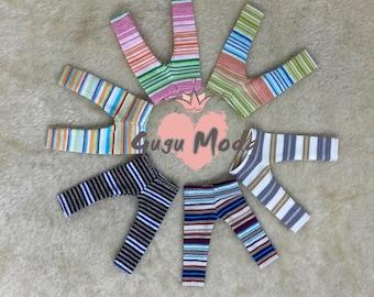 Pukifee/lati yellow striped leggings