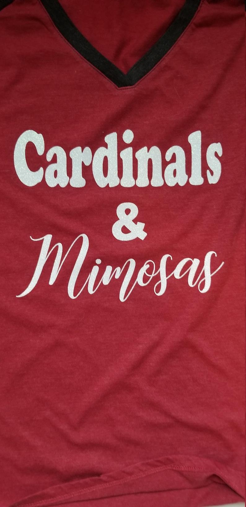 new arrival fa858 918b4 AZ Cardinals shirt, Bling Cardinals Shirt, Cardinals and Mimosas Shirt. NFL  Shirt