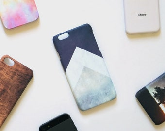 triangle géométrique iPhone X iPhone 8 plus cas iPhone 7 iPhone 6 s iPhone 6 et SE étui pour iPhone 5