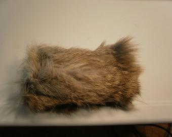 Rabbit fur Cat Toy--Medium