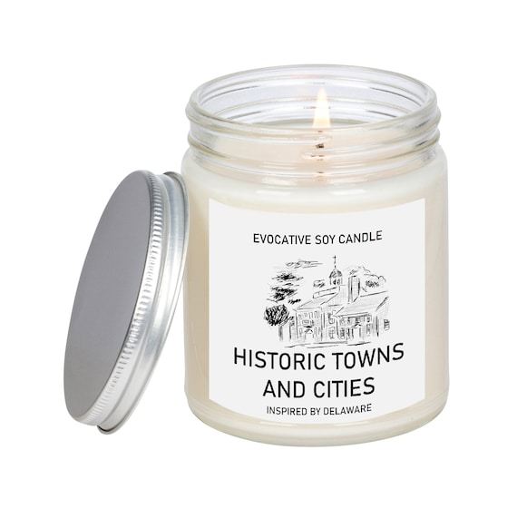 Delaware Scented Candle Missing Home Homesick Gift Etsy