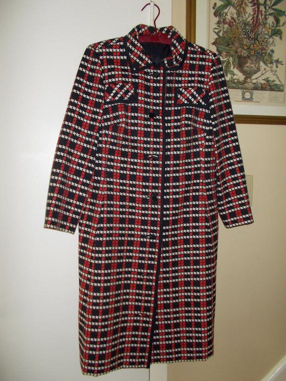 Vintage Robert Leonard Coat Dress