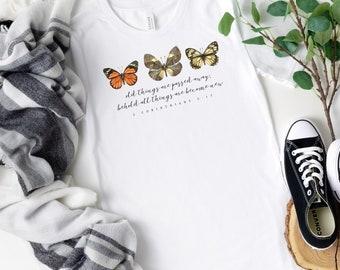 2 Corinthians 5:17 (Light) T-Shirt