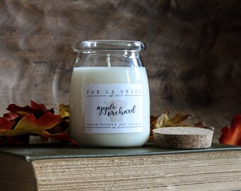 Apple Orchard - No. 35, Hand Poured Soy Candle, Clean Burn