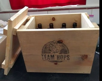 Beer Crate with lid
