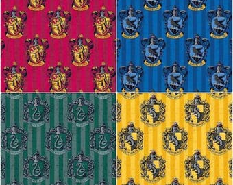 Harry Potter Hogwarts Houses collection dog collars