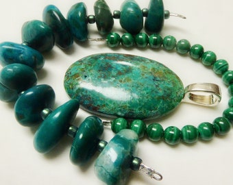 Green Malachite Cabochon with a Beveled Edge A Rectangle Shaped Stone with Dark Wavy Lines for Making Wire Wrapped Pendants Monochromatic