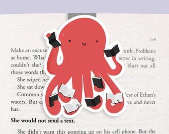 Octopus Magnetic Bookmark (Jumbo)