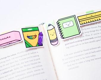 School Set Magnetic Bookmarks (Mini 5 Pack)
