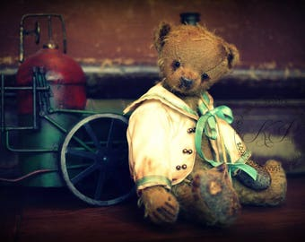 "Kit to create Traditional Style 8.5"" Teddy Bear and His Sailor Jacket"