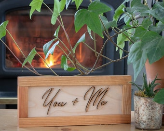 Wedding gift, Anniversary gift, Gift for her, Gift for him, home decor
