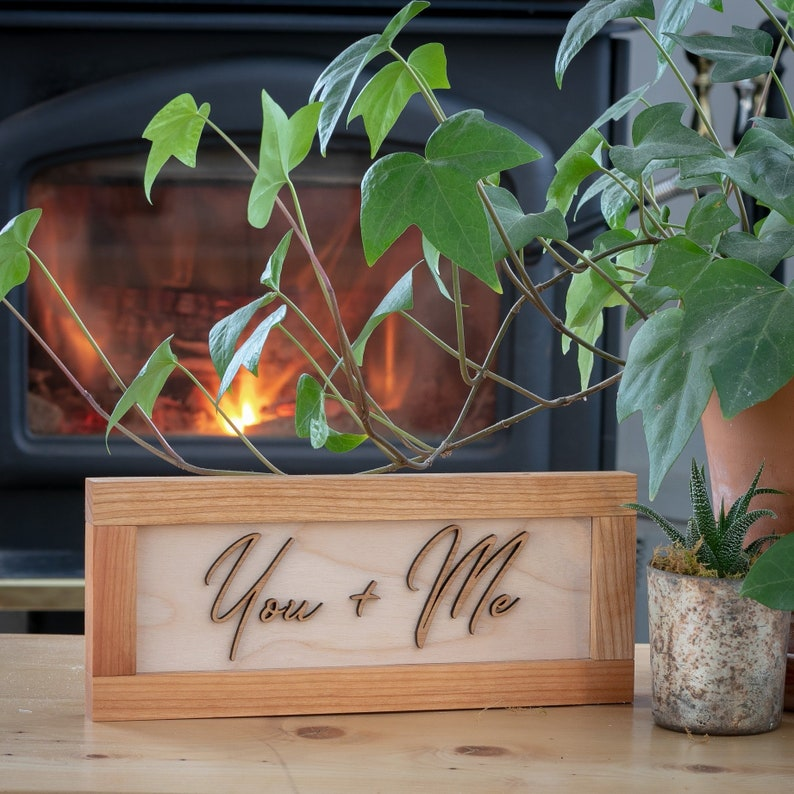 Wedding gift Anniversary gift Gift for her Gift for him image 0