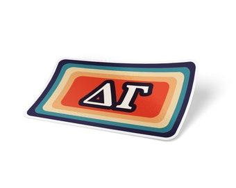 Alpha Xi Delta - Sticker Sheet - Bohemian Theme