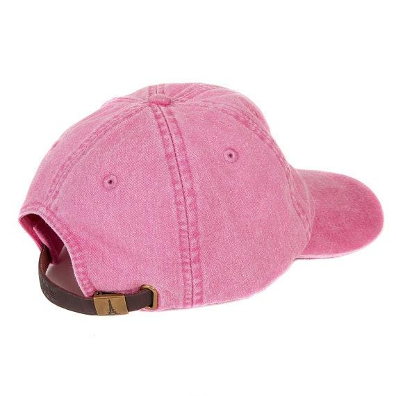 da3bc29d132 Alpha Xi Delta Sorority B Hot Pink Baseball Hat with White