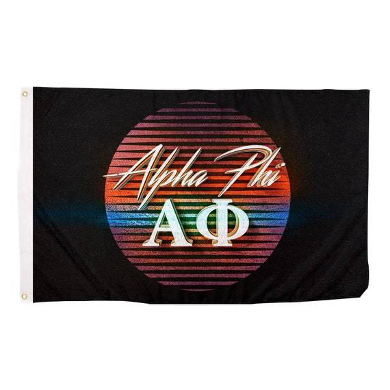 Desert Cactus Kappa Alpha Theta Rose Sorority Flag Greek Letter Use as a Banner Large 3 x 5 Feet Sign Decor