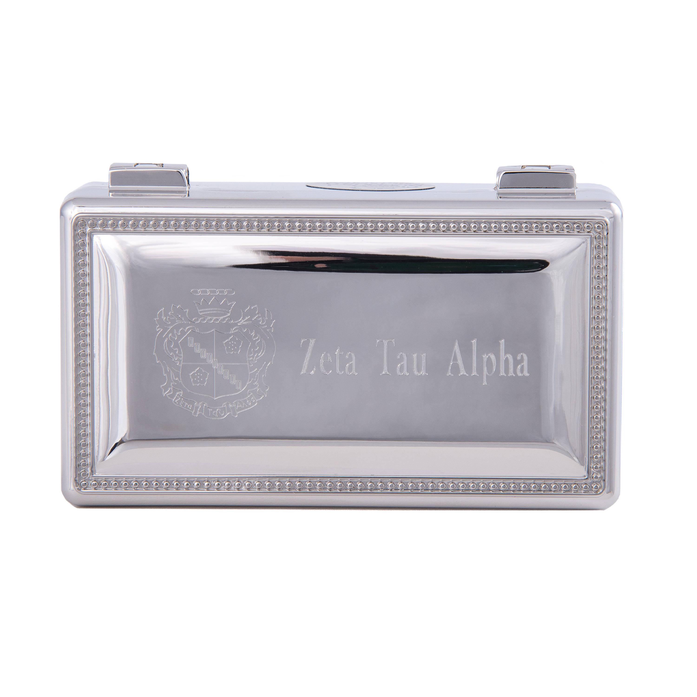 Delta Gamma Rectangle Metal Crest /& Word Pin Box
