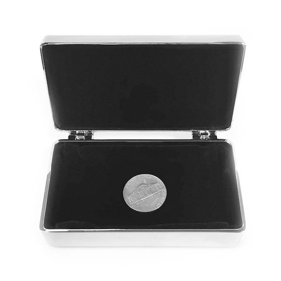 Alpha Gamma Delta Rectangle Metal Crest /& Word Pin Box