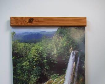 Heart Pine chunky calendar clamp