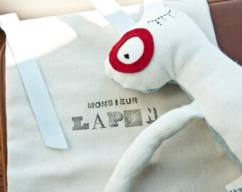 Monsieur Lapin-Plush Rabbit