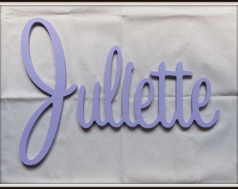 """Wooden Name  12"""" 15"""" or 18"""" Capital Letter  Unpainted or Painted"""
