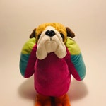 Handstitched and Re-imagined Plush Animal Mix, FrankenStuffs Just-Right Humphrey