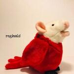Handstitched and Re-imagined Plush Animal Mix, FrankenStuffs Mini Reginald (#2 of the first FrankenStuffs Family!)