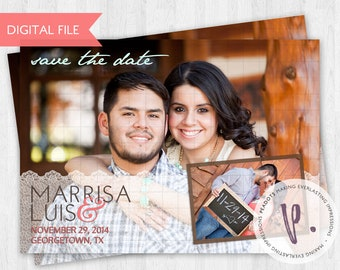 Rustic, Western, Country Save the Dates