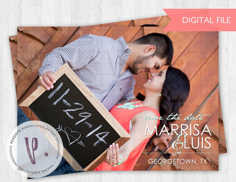 Rustic Western Country Save the Dates image 0