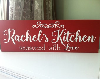 Personalized Kitchen Signs | Kitchen Signs Personalized Etsy
