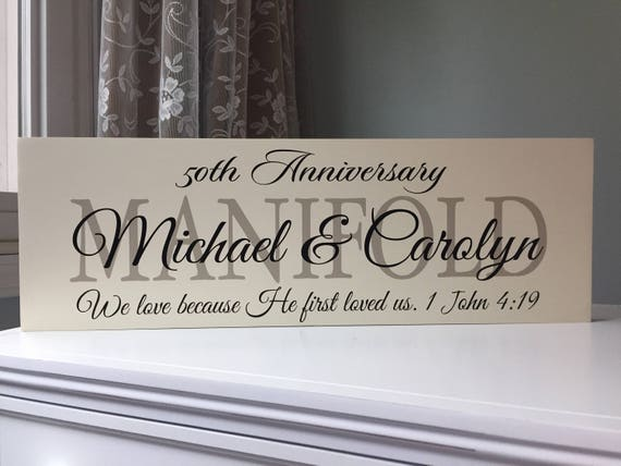 9th Wedding Anniversary Gifts for Parents-Gift Ideas-party  decorations-Anniversary center piece-9th Anniversary-Wood Sign-Wooden Sign