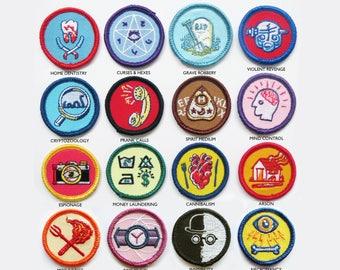 Alternative Scouting for Girls and Boys Merit Badges - FULL SET OF 22