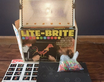 photo regarding Lite Brite Refill Sheets Printable Free identified as Lite brite Etsy
